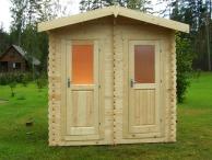 дачный деревянный туалет во владимирской области