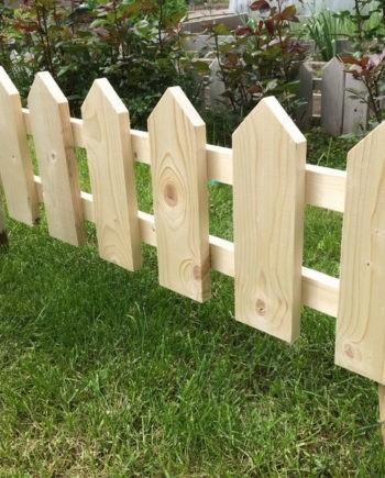 Забор декоративный деревянный