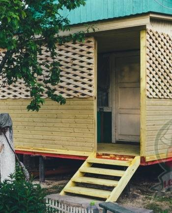 Беседка - Веранда для дома