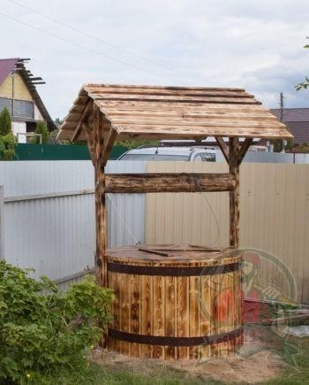 Домик для колодца Штурвал