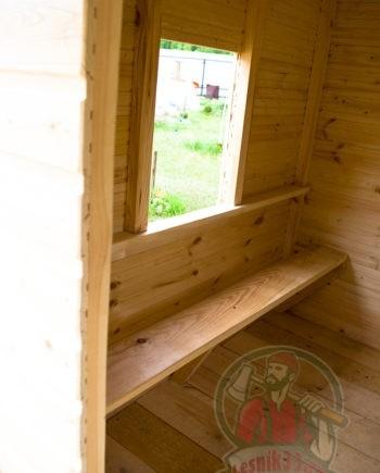 Комплект лавочек для детского домика Улыбка