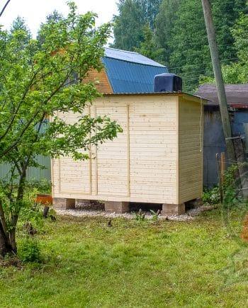 Душ и туалет 1,5 метра на 3 метра Комплекс